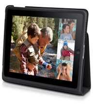 Optional iPad carrying case